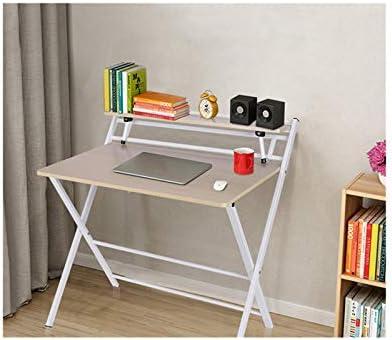 Small Folding Desk Computer Desk Writing Desk Portable Small Lazy Foldable Table Laptop Desk Small Oak Desks Home Office Desk