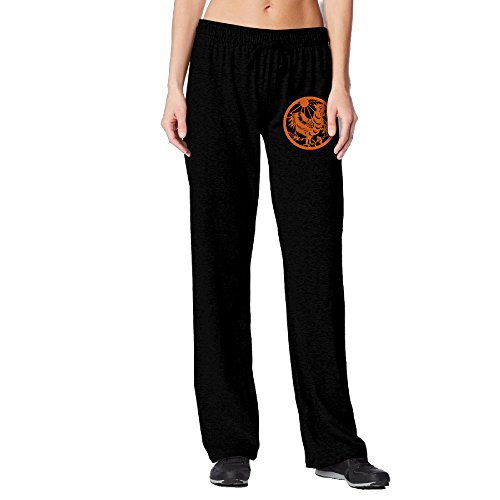 BakeOnion Women's Chinese Zodiac, Hen Running Sweatpants M Black (Running Costumes Pinterest)