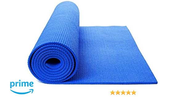 Fitwhiz Extra Thick High Density NBR Comfort Foam Exercise Yoga Mat for Pilates, Non-Slip, All-Purpose, Longer & Wider Than Other Yoga Mats, Size: 72 ...