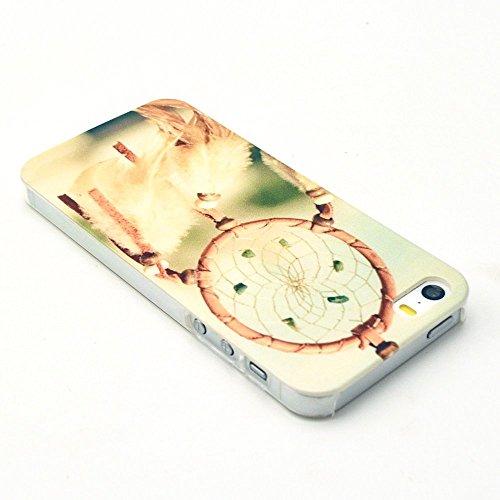 Vanki® Fundas iPhone 5S 5 SE, Suave TPU Funda Parachoques Funda Absorción de Impactos y Anti-Arañazos Case Cover Carcasa Para iPhone 5S 5 SE 2