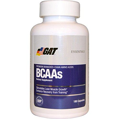 GAT, BCAAs, 180 Capsules Bcaa 180 Capsules