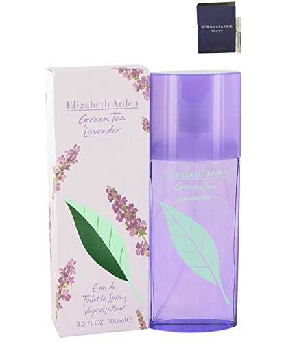 - Green Tea Lavender Perfume E L I Z A B E T H Arden Eau De Toilette Spray For Women 3.3 oz.100 ml. + Free! Sample Perfume Bon Genre 0.05 oz Vial