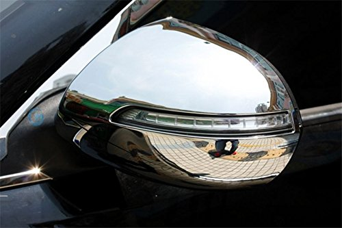 ABS Chrom Hinten View Seite T/ür Spiegel Verkleidung 2/F/ür Auto Zubeh/ör kasp10