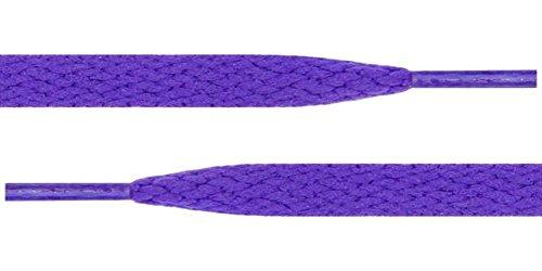 45 Lacci Delle Scarpe Viola 5/16 Piatti Per Tutte Le Scarpe Da Donna