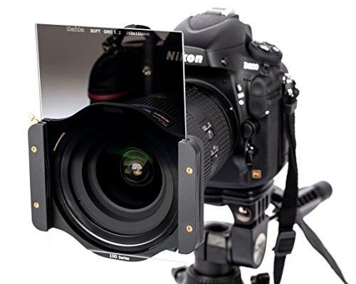 (Haida Pro II MC 100mm 150mm Pro II MC Soft Grad ND16 1.2 Glass Filter GND LEE Compatible 100 Series GND1.2 16x 6.25% Graduated Neutral Density Multi Coated)