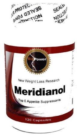 Meridianol N ° 240 Capsules Top 6 appétit abat / Hoodia, Magnolia Barc, thé vert, L-tyrosine, Banaba / BioPower Nutrition (2 bouteilles)