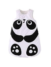 Baby Sleeping Bag 2.5 Tog - Winter Swaddle Blanket Animal Design 0-24 Months