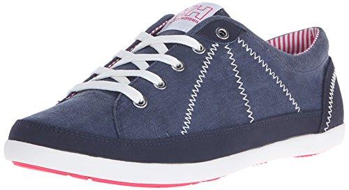 Helly Hansen W Latitude 92 Zapatillas de deporte exterior, Mujer Azul / Blanco (597 Navy / Off White / Magenta)