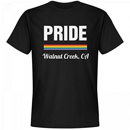 Rainbow Pride Walnut Creek, CA: Unisex Next Level Premium - Creek Ca Walnut Gift Shop