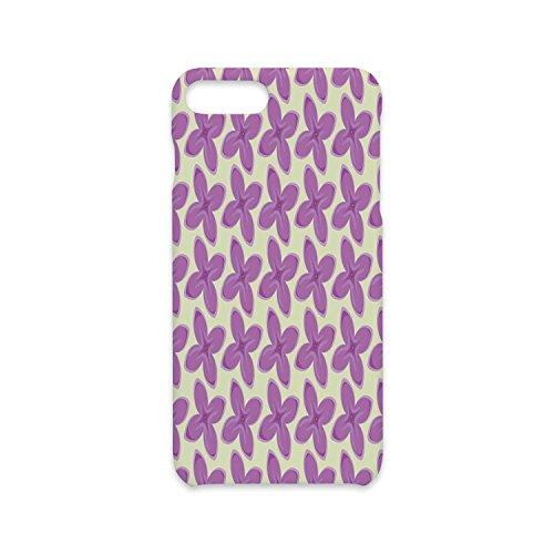 Hit Bouquet - iPhone 7/8 Plus Case Fashion Stylish Print,Mauve Decor,Big Fresh Flower Floret Buds Bouquet Motif Valentine Romance Blossoms Design,Yellow Violet,Antiskid Proof Shell