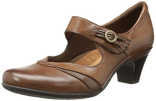 Rockport Cobb Hill Women's Salma-Ch Dress Pump, Almond, 6.5 M US