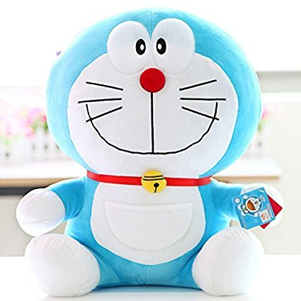 Doraemon Plush Toy Smiling Style Doraemon Soft Doll 11 inches