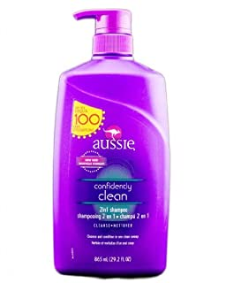 Aussie Confidently Clean Shampoo With Pump 29.2 Fl Oz (B00GR2SX1S) | Amazon price tracker / tracking, Amazon price history charts, Amazon price watches, Amazon price drop alerts