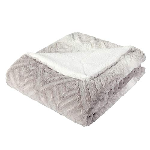 ALPHA HOME Sherpa Blanket 60