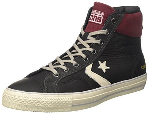 turtledove Truffle Alto black Collo Uomo A Nero Distressed suede Sneaker Player Converse Hi c Star ZWwOaqZU6