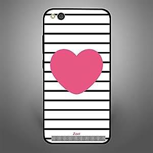 Xiaomi Redmi 5A Pink Heart stripes