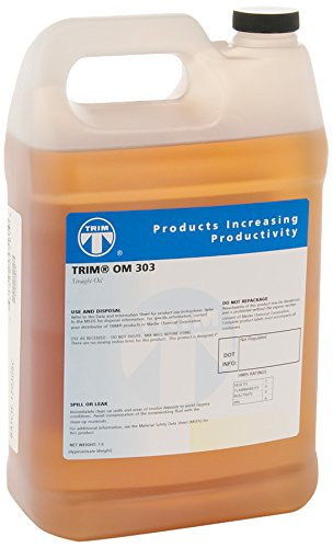 TRIM Cutting & Grinding Fluids OM303/1 Nonchlorinated Cutting and Lubricating Oil, 1 gal Jug