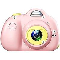 TOOGOO Cute Children Digital Camera Full Hd 1080P Mini Dual Lens Kids Camera 2Inch 8Mp SLR Video Camera Best Gifts for Kids Children(Pink)