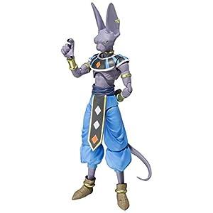 "Bandai Tamashii Nations Beerus ""Dragon Ball Super"" Action Figure - 41dHLjpXLdL - TAMASHII NATIONS Bandai Beerus Dragon Ball Super Action Figure"