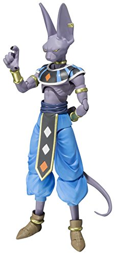 - Bandai Tamashii Nations Beerus Dragon Ball Super Action Figure