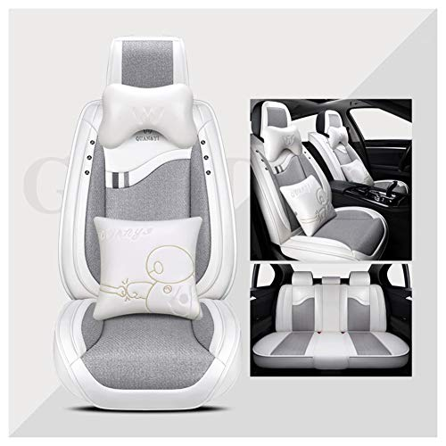 (Automotive Seat Cushions Car seat Cushion Car Seat Cover Good Breathability and Comfort for car Seats Office Chair Universal Size (Color : Gray, Size : #3))