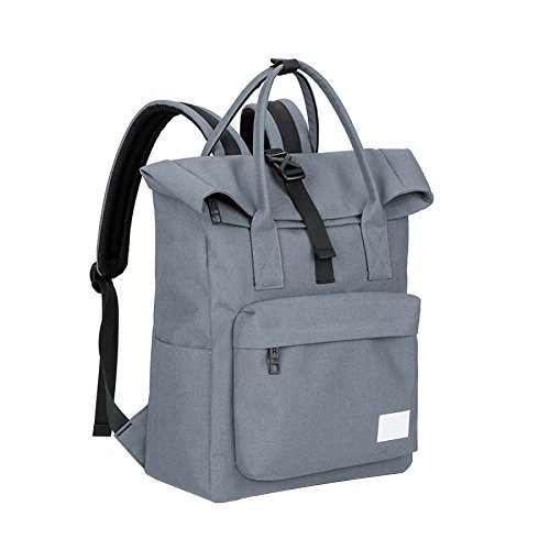 Shoulder Lightgray Bag Backpack Fresh Men Travel Dhfud Fashion Casual Student vwqzX