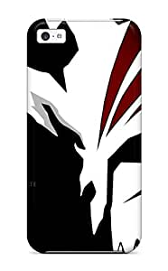 Tpu Case Cover For Iphone 5c Strong Protect Case - Bleach Ichigo Hollow Mask Design