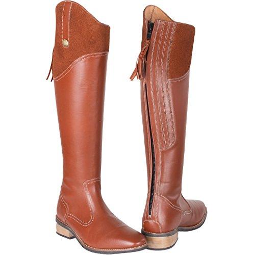 de para mujer Botas equitación marrón Toggi xIgq57t8