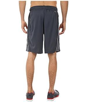 Adidas Men's Essentials 3-stripe Shorts, Dark Onixtech Grey, Medium 3