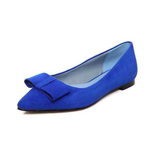 Sconosciuto 1TO9, Scarpe Col Tacco Donna, Blu (Blue), 35 EU