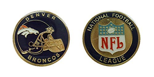 Broncos Collectible Challenge Coin- Logo Poker - Lucky Chip