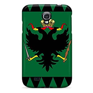 TUt8506LaDO Anti-scratch Case Cover Buydiycase Protective Kingdom Of Lombardy-venetia Flag (1815-1866) Case For Galaxy S4