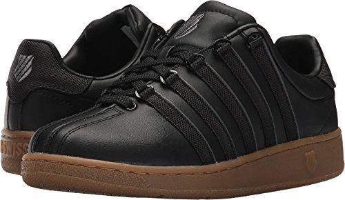 Black Gum (K-Swiss Men's Classic VN Sneaker, Black/Dark Gum, 9.5 M US)