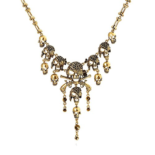 Cos2be Skeleton Skull Necklace Statement product image