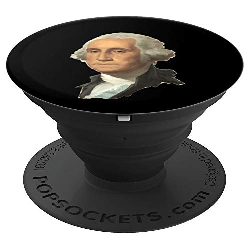 (George Washington Liberty gift for Libertarian Freedom USA - PopSockets Grip and Stand for Phones and Tablets)
