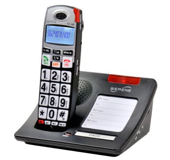 Serene CL-60 55 dB Big Button Cordless Phone
