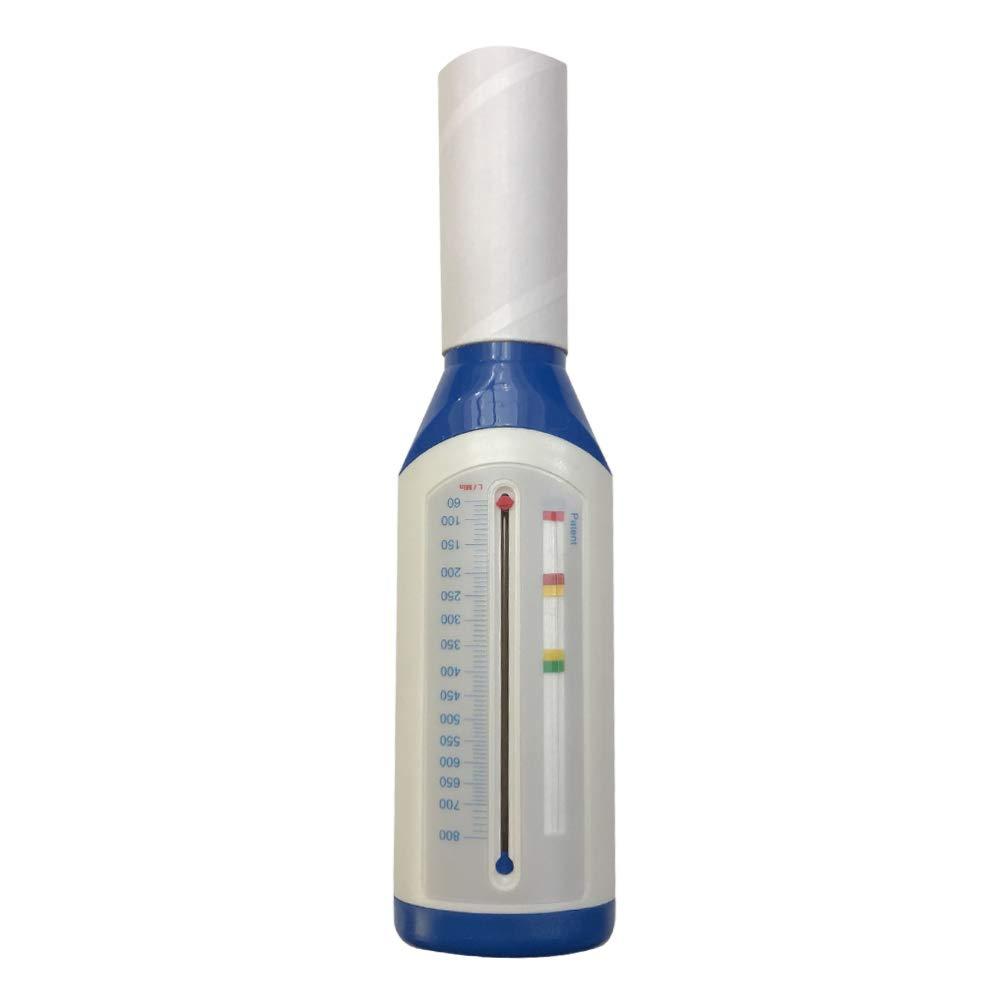 ULTECHNOVO medidor de flujo máximo de espirómetro portátil para detector de asma pulmonar monitor de función de respiración para adultos