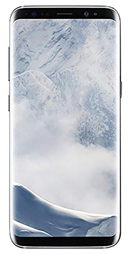 Samsung Galaxy S8 - 64GB - Arctic Silver - Verizon + GSM Factory Unlocked 4G LTE (Renewed) (Best Cell Phone Carrier For International Use)