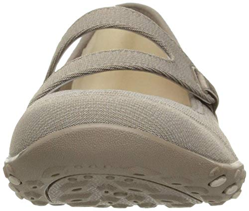 Breathe easy lucky Donna Skechers Lady Taupe Mary Jane 8pwpq