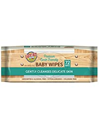 Earth's Best Chlorine-Free Wipes, Refill Pack, 72 count, Pack of 12 BOBEBE Online Baby Store From New York to Miami and Los Angeles