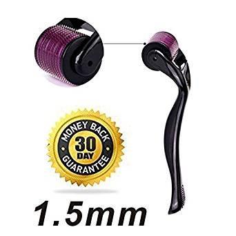 Tristar One Skin Care Titanium Microneedle 540 Micro Needles Derma Roller Needle-1.5mm-h4