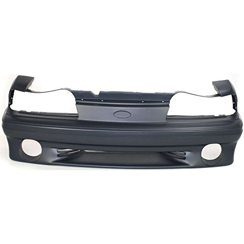 Front BUMPER COVER Primed for 1987-1993 Ford Mustang ()