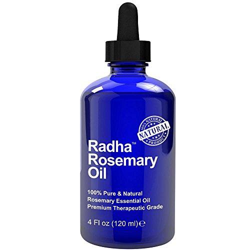 Radha Beauty Rosemary Essential Oil , 4 oz.