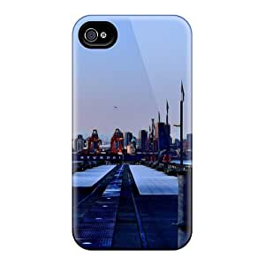 High-quality Durability Case For Iphone 4/4s(dock In The Harbor)