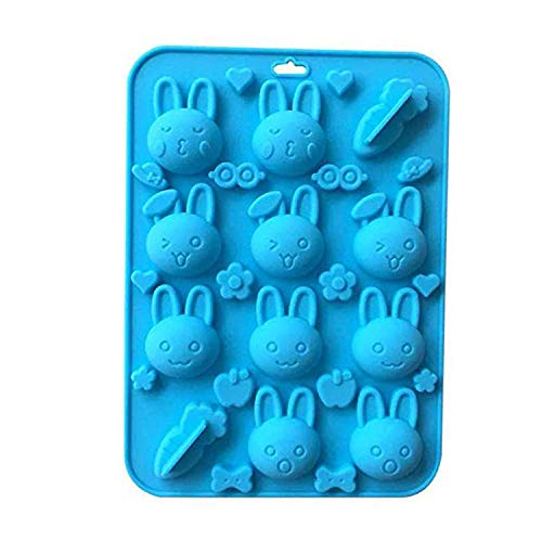 Used, VIIVL Silicone Mold Non-stick Rabbit Carrot Mold for for sale  Delivered anywhere in USA