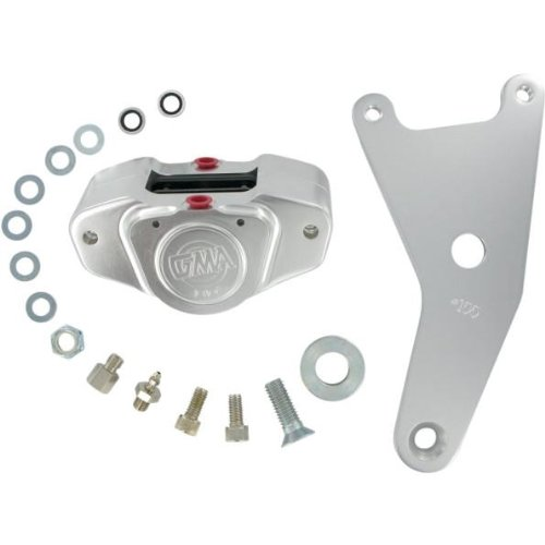 GMA 100 Rear Brake Kit Classic Clear Anodized GMA100