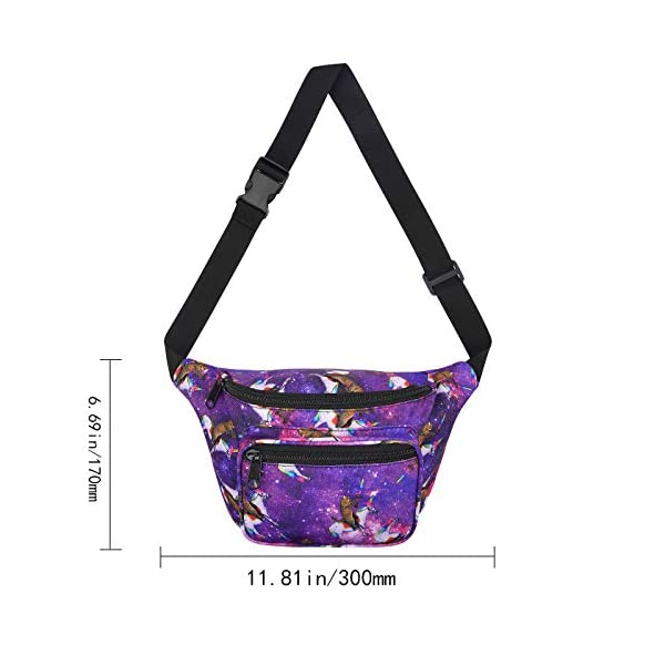 Waist Pack Travel Crossbody Bag