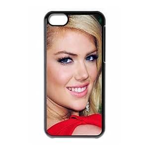 iPhone 5c Cell Phone Case Black Kate Upton Beautiful Smile Rfukc