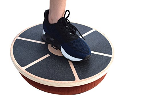 GABO Board Infinitely Adjustable Wobble Balance Trainer Free eBook Improve Your Balance, Improve Your Life