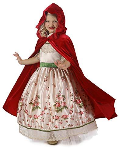 Princess Paradise Vintage Red Riding Hood Costume, Multicolor,